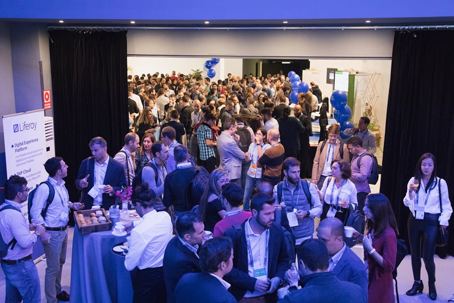 With over 600 attendees, it was our largest ever Liferay event!