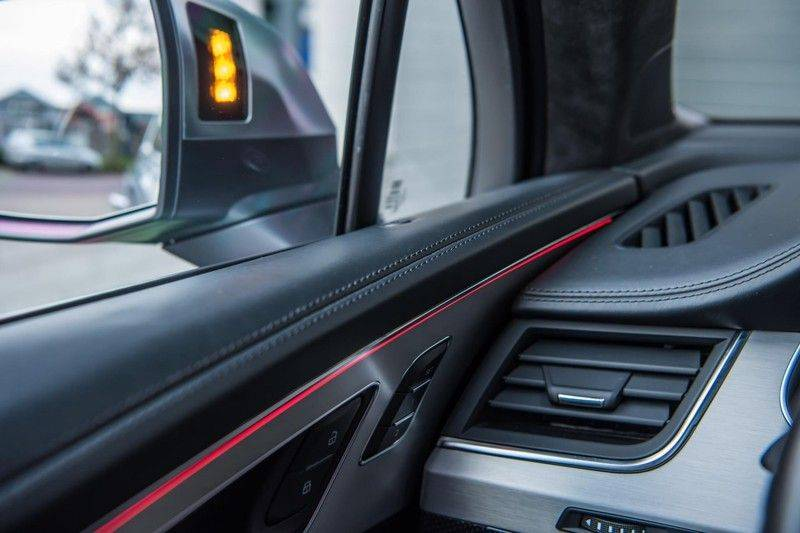 Audi SQ7 4.0 TDI Quattro Pro Line + , 435 PK, Valcona/Leder, Pano/Dak, 2017, Bose, 22'', Elekt. Trekhaak, 79DKM!! afbeelding 17