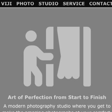 Image of Vijistudio Webpage