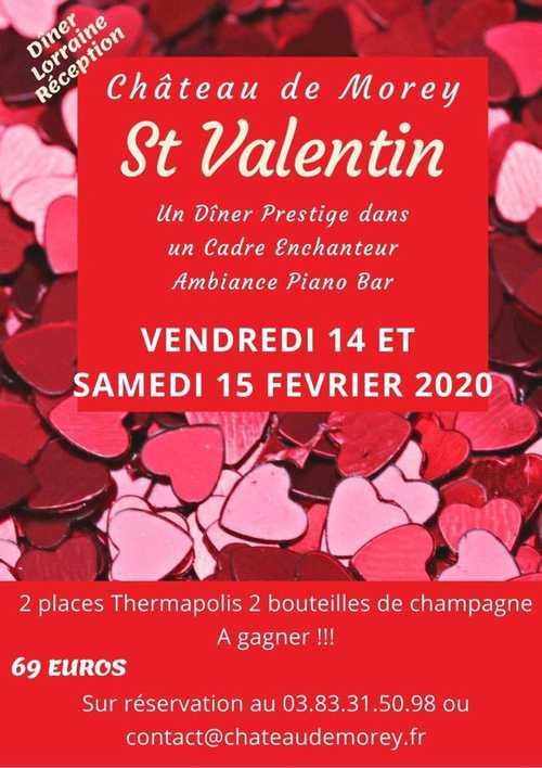 Une Saint Valentin inoubliable près de Nancy