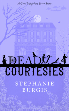 Cover for Deadly Courtesies, by Stephanie Burgis.
