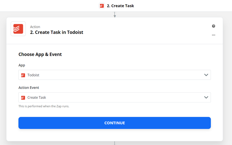 sign in to your Todoist account