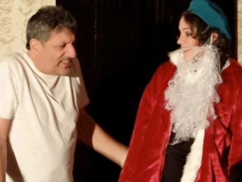 Image of Oy Oy Oy, Merry Christmas! in production by Unity Stage Company.