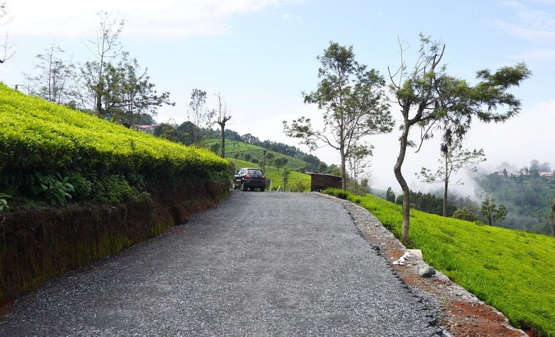 Strata web road under development at Coonoor site