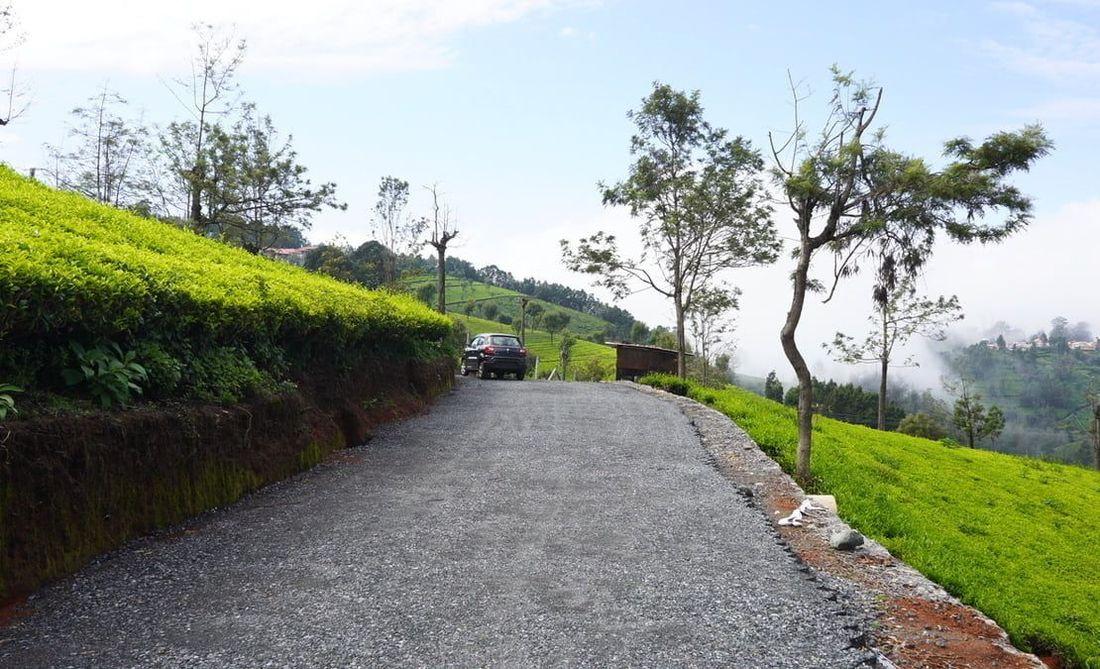 Strata web road under development at Coonoor site