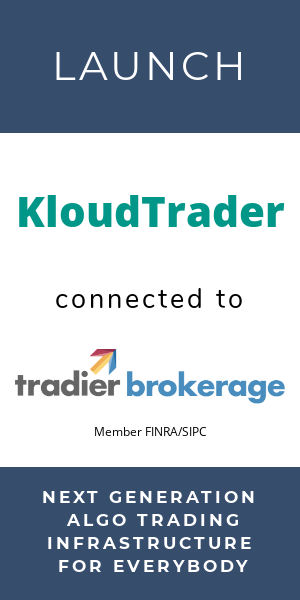 kloudtrader tradier partnership commission free trading