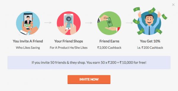 Invite customers