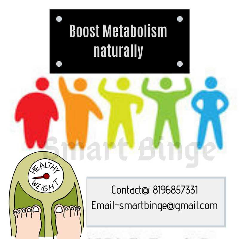 Boost metabolism naturally graphic