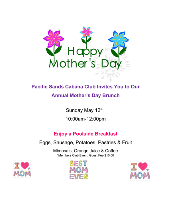 Mothers Day Brunch 2019