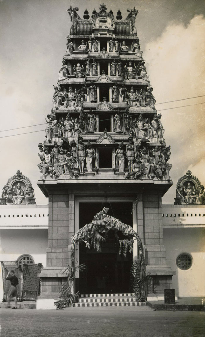 Sri Mariamman Temple, 1950s