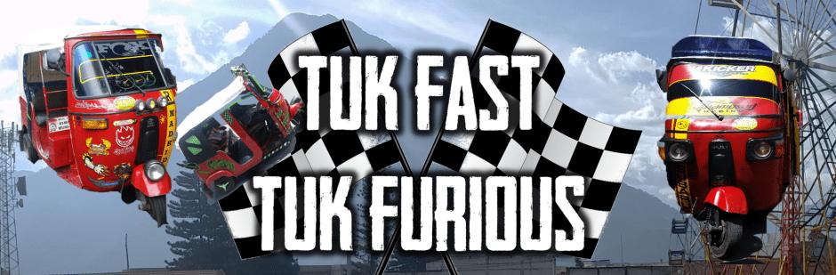 Cover des Spiels mit Rallye-Tuktuks