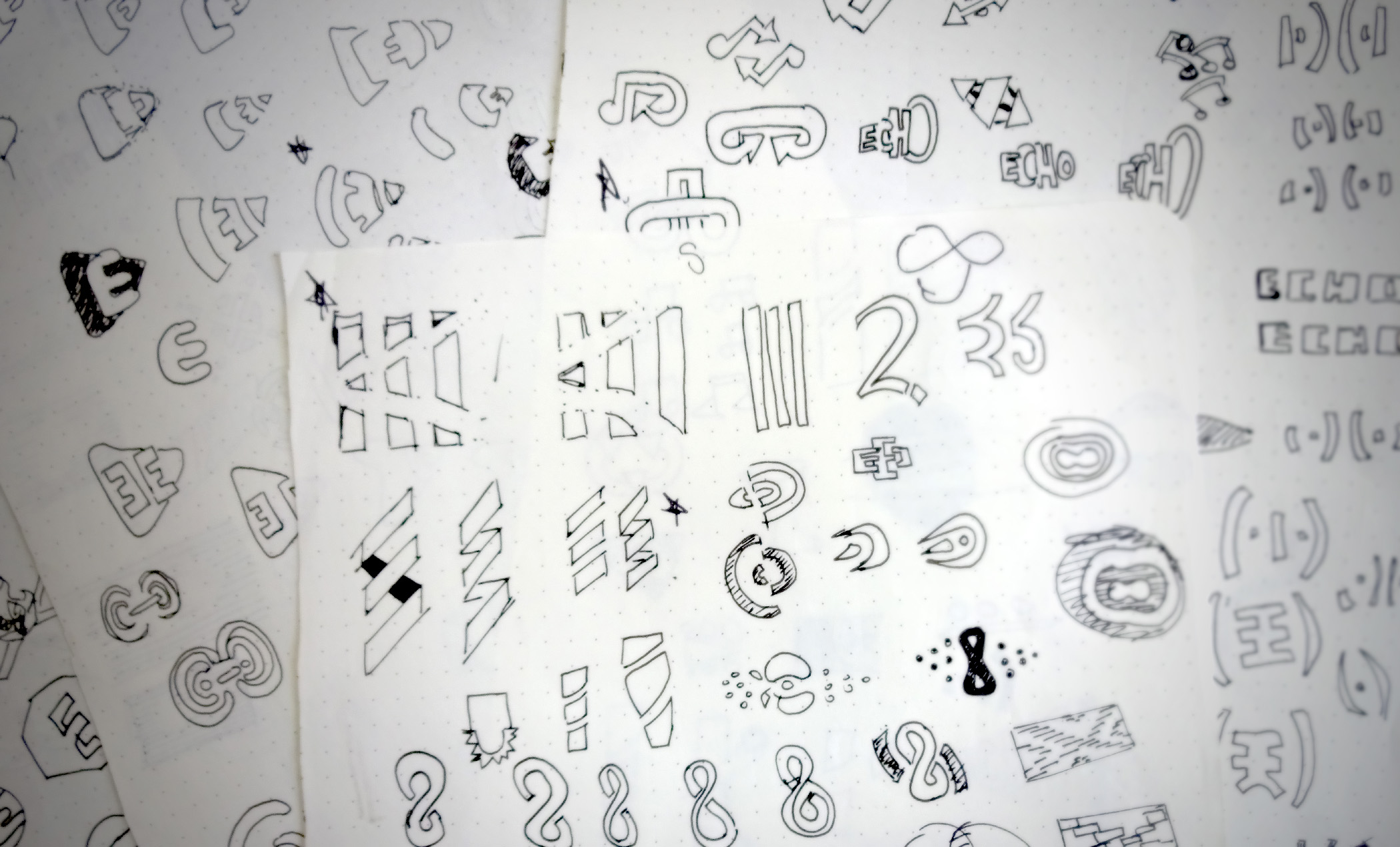 Echo Initial Sketches