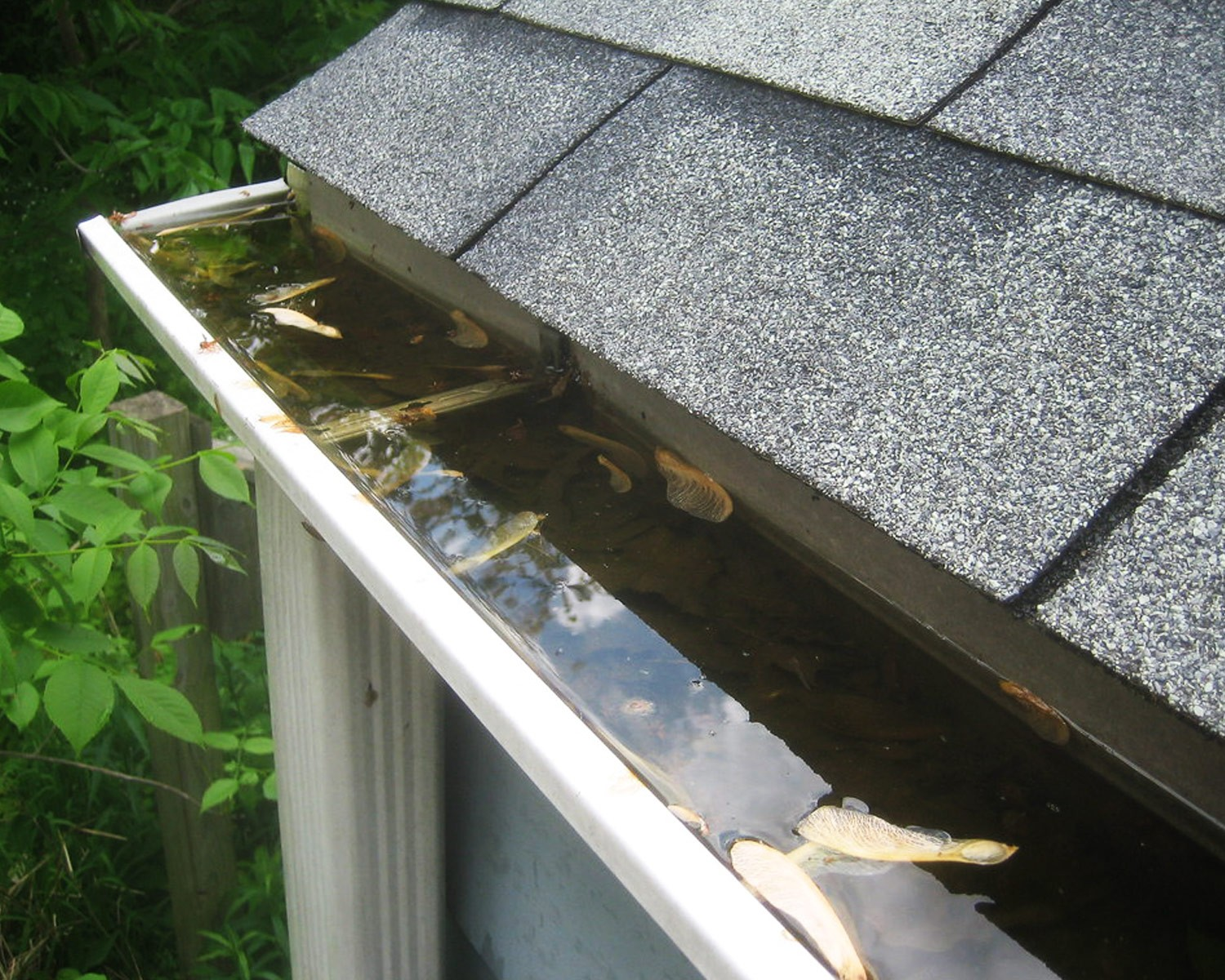 Exterior construction services like gutters and downspouts by MDH Construction in Plymouth, MA
