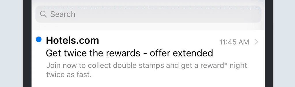 Hotels email