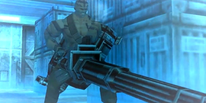 Metal Gear Solid, PSX, Vulcan Raven