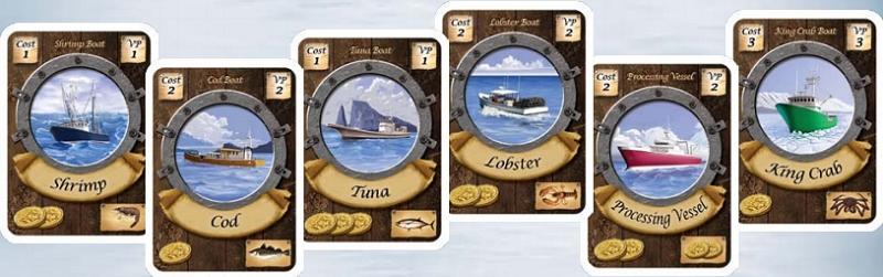 Fleet boat cards