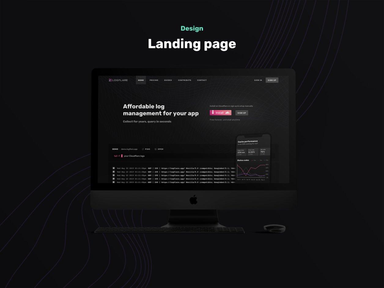 Responsive Design - UI Design | Logflare