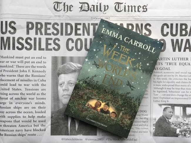 Book Review: The Week at World's End by Emma Carroll