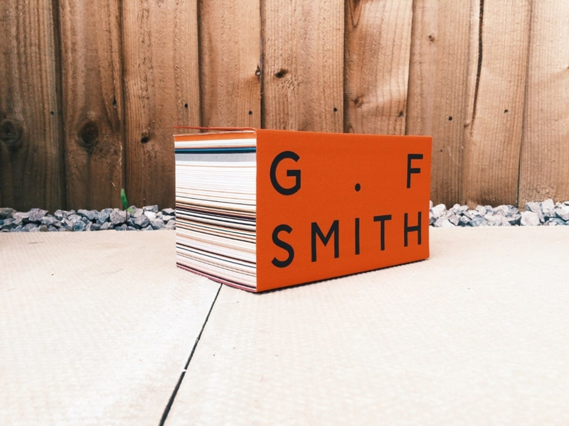 GF Smith Colorplan swatch book