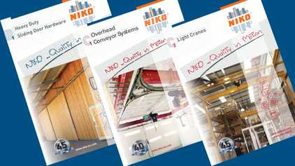 NikoTrack Manuals and Downloads, catalogs for all products