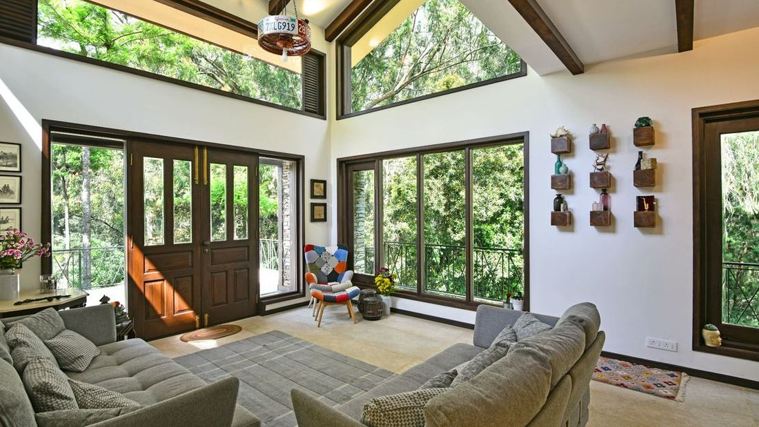 Forest view from the family room