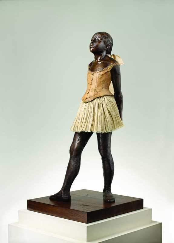 """Another angle from """"The Complete Sculptures of Edgar Degas"""" collection at M.T. Abraham Foundation"""
