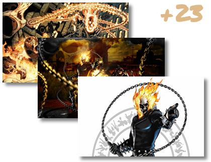 Ghost Rider theme pack