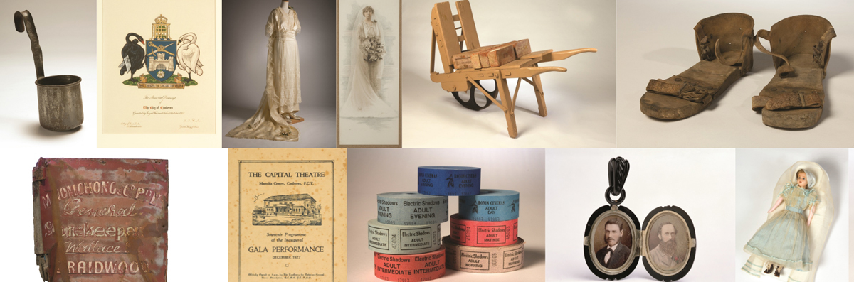 A snapshot of the social history collection