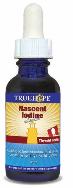 Blue bottle of nascent iodine