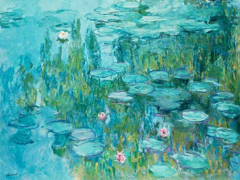 One of Claude Monet's large-scale Water Lilies.
