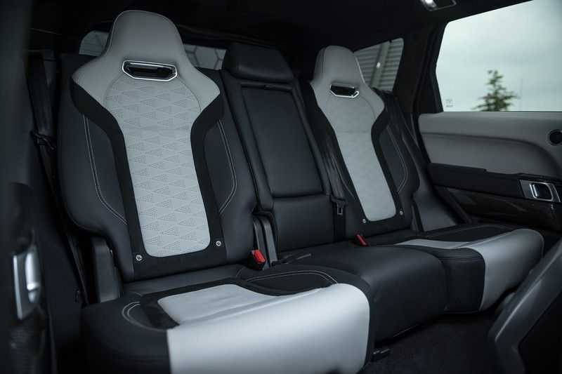 "Land Rover Range Rover Sport P575 SVR Carbon SVR motorkap + Drive Pro Pack + Panoramadak + 22"" + Stoelkoeling + Head-Up + Stuurwielverwarming + Carbon interieur afbeelding 19"