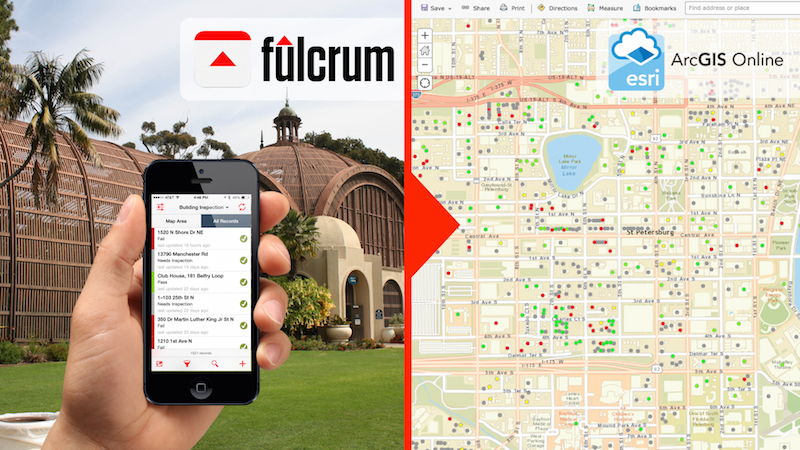 Pushing Fulcrum Data into ArcGIS Online