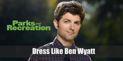 Ben Wyatt regular outfits also embody his masculine no-nonsense personality as well. You'll see him mostly is slacks and a smart polo shirt.