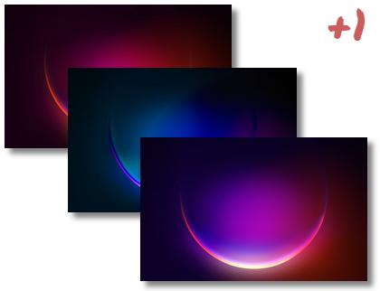 Windows 11 Glow theme pack
