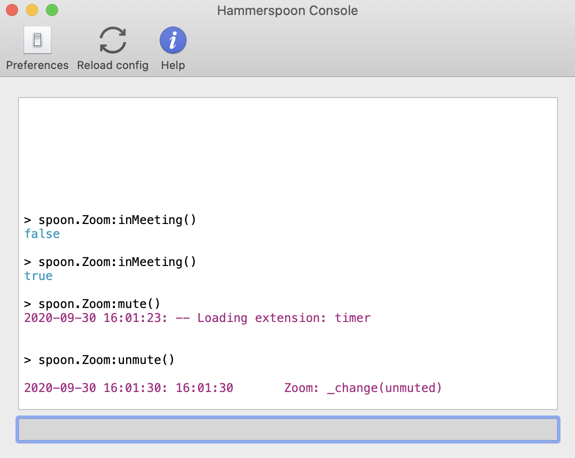 Image of the Hammerspoon preferences window