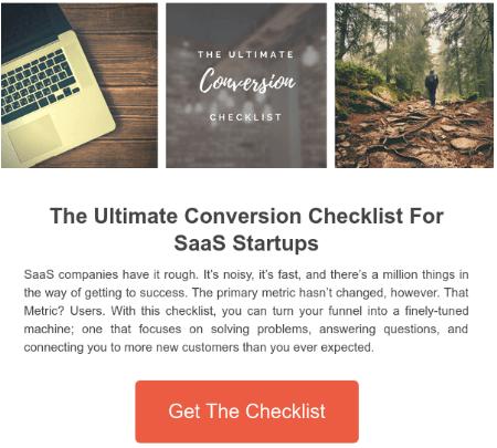 Ultimate conversion checklist