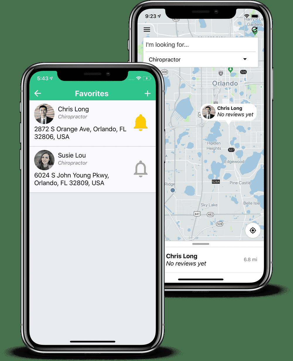 App showcase features