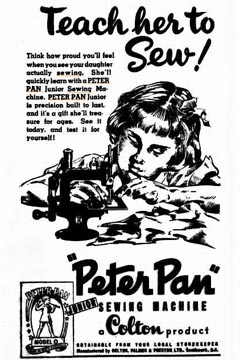 Peter Pan Ad
