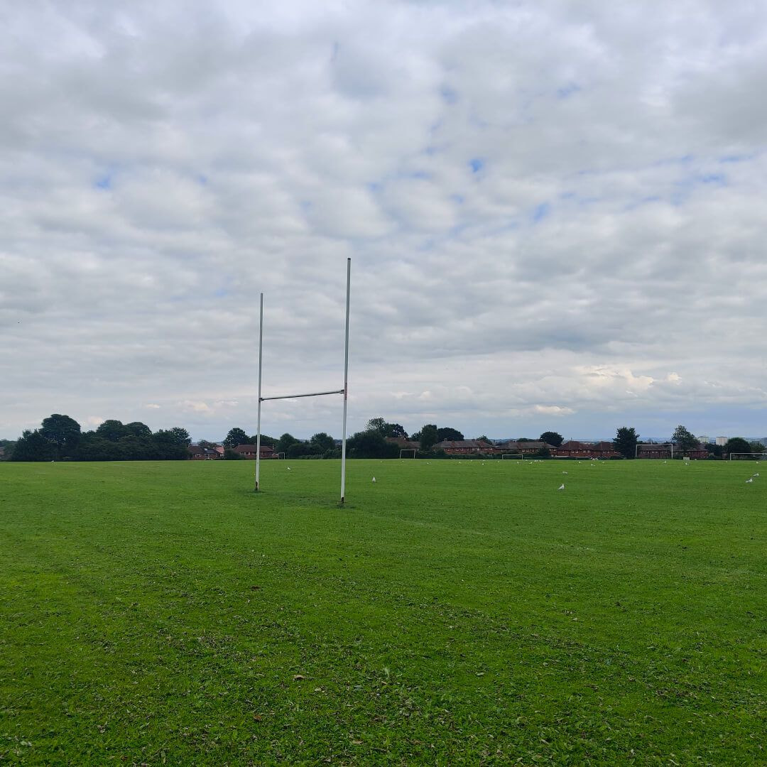 Scott Hall Playing Fields Rugby Post
