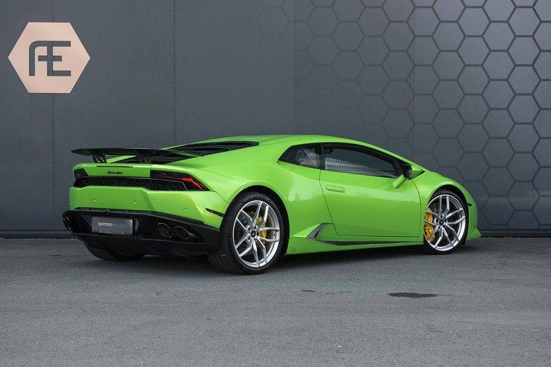 Lamborghini Huracan 5.2 V10 LP610-4 Blue Eye + Carbon Spoiler + LIFTING + Achteruitrijcamera afbeelding 7