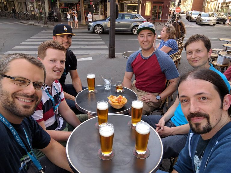 Developer Happy Hour at WordCamp Europe