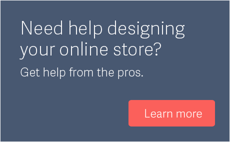 Get help designing your Volusion store
