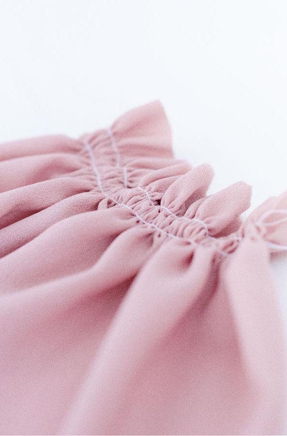 Fronces couture
