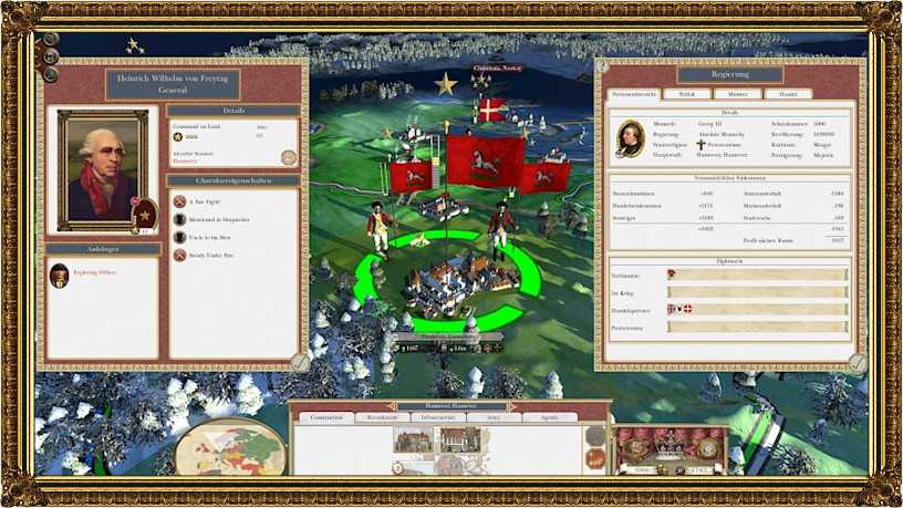 Screenshot of the HUD a user sees in the game