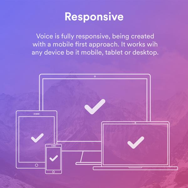 Voice Ghost responsive
