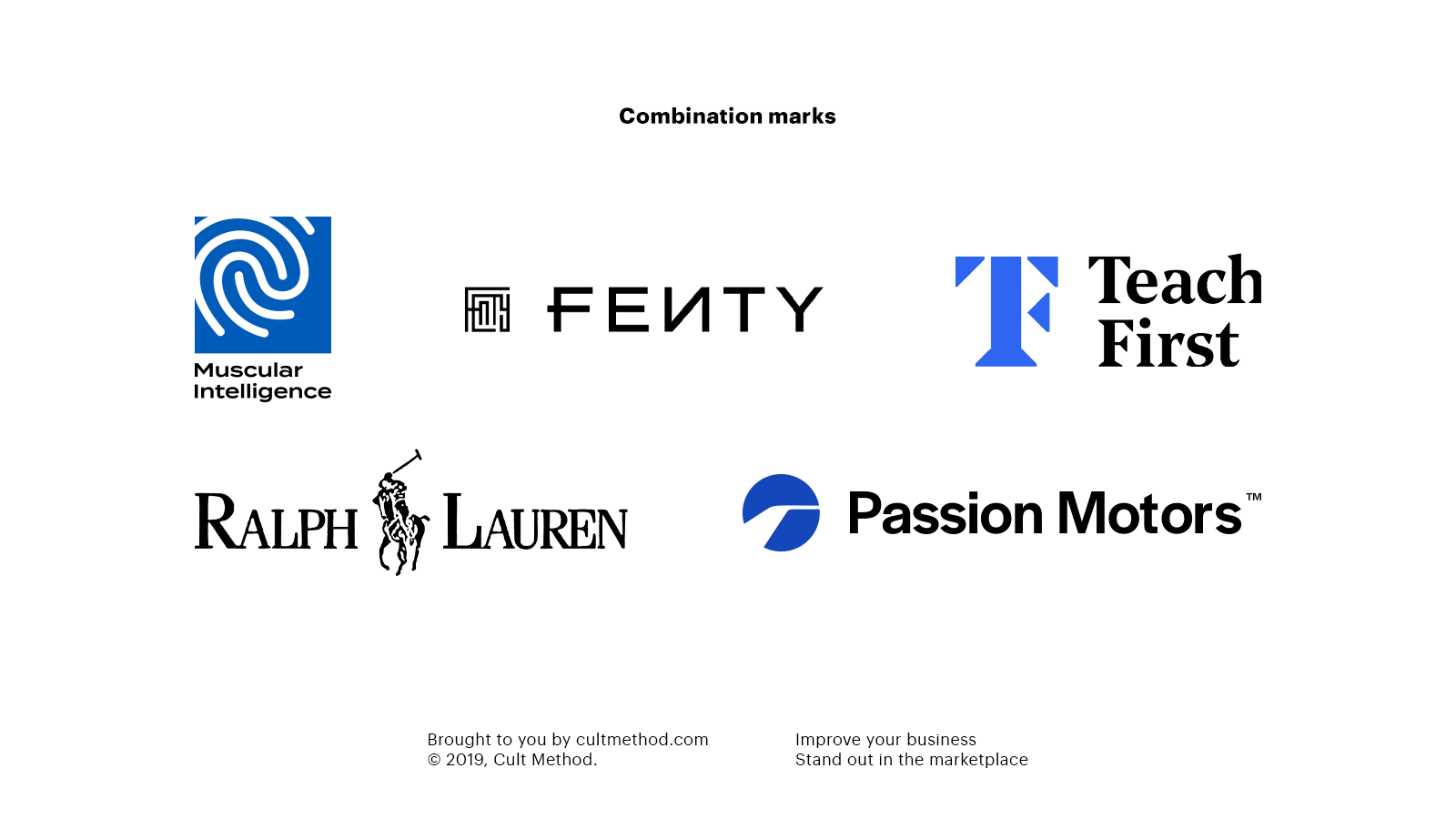 Combination marks