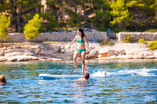 Visiting the Beaches of Brac on a Croatia Sailing Holiday
