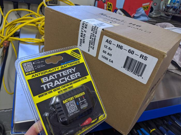 Antigravity Battery package