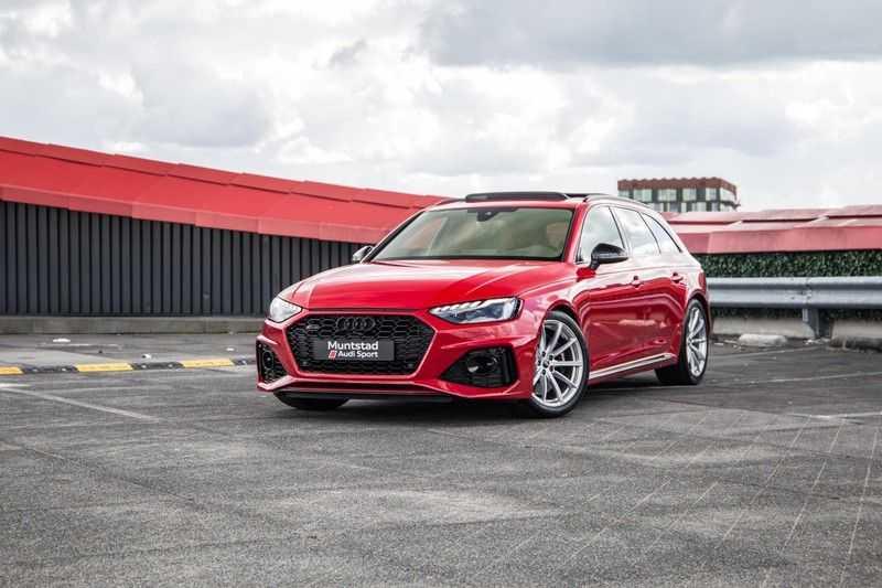 Audi RS4 Avant 2.9 TFSI quattro | 450PK | Sportonderstel Plus | Panoramadak | Inleg Carbon | B&O | Sportdifferentieel | Head-up afbeelding 3