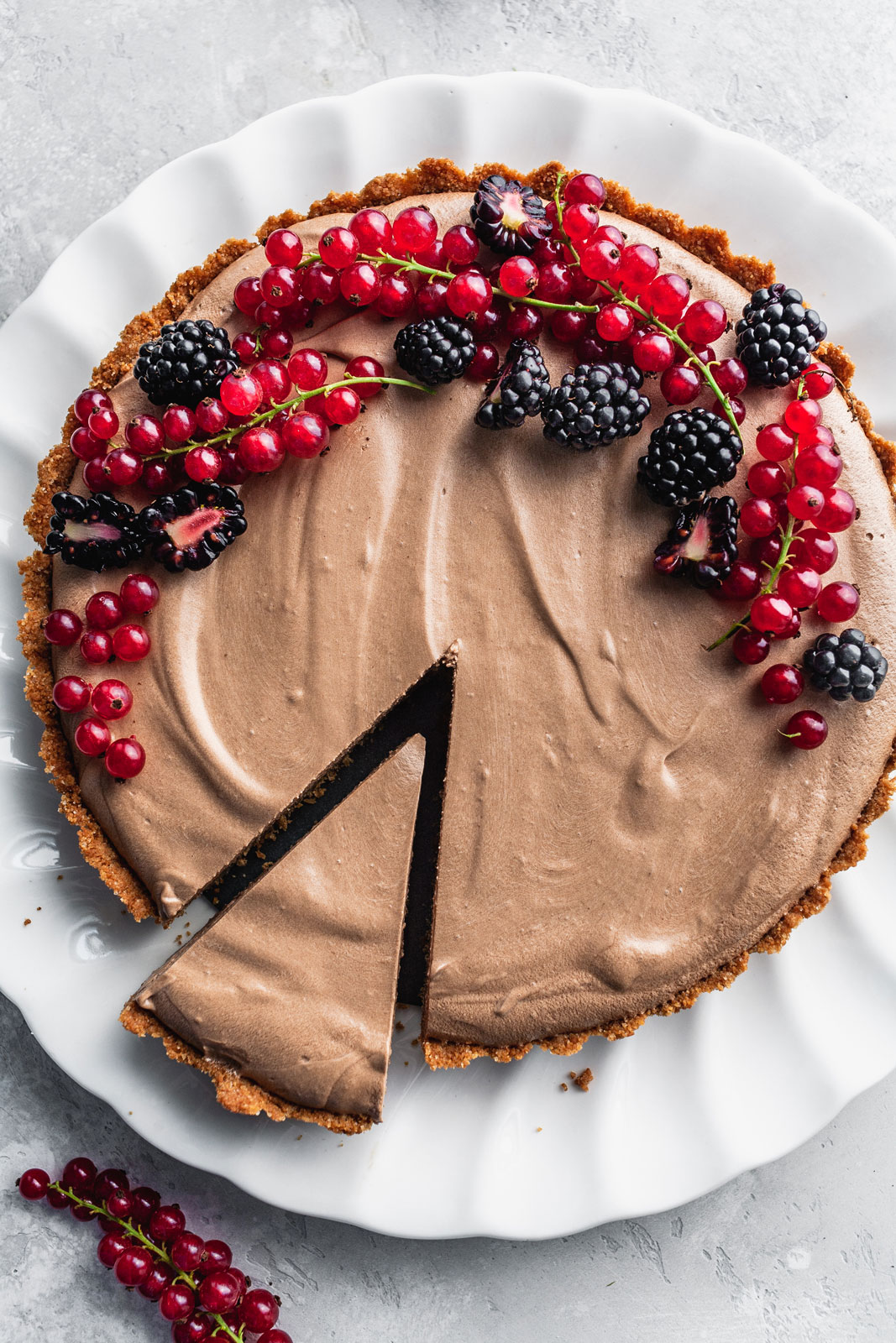 Chocolate Espresso Silk Pie